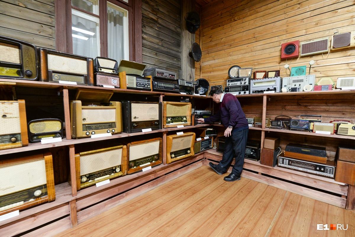 В музее собрана большая коллекция техники, изобретение которой было бы невозможно без трудов Попова