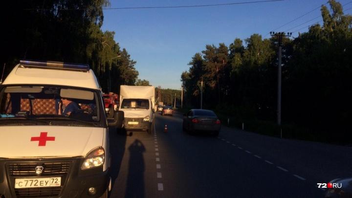 Под Тюменью водитель грузовой «Газели» сбил пешехода
