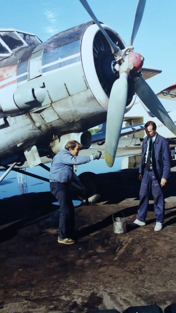 Уктусский аэропорт переехал под Арамиль в 1985 году, а Андрей пришел работать сюда в 1986-м