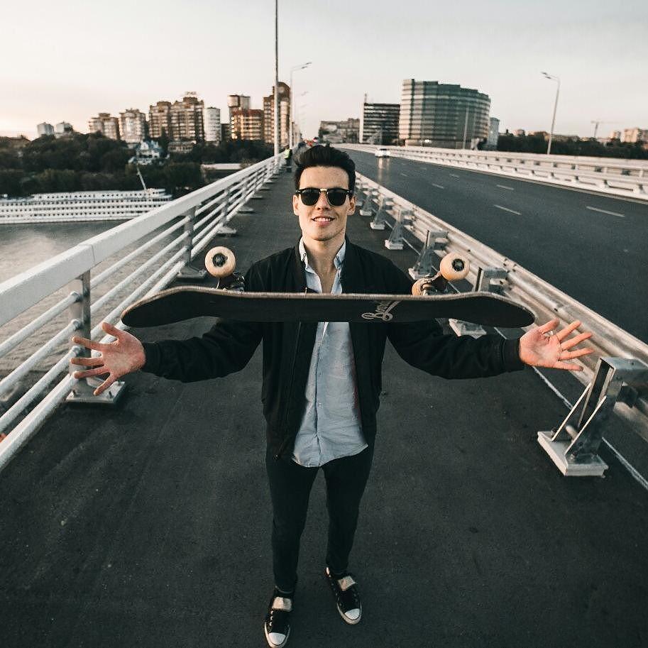 Александр верит, что однажды Ростов догонит Москву по количеству и качеству площадок для скейтбординга