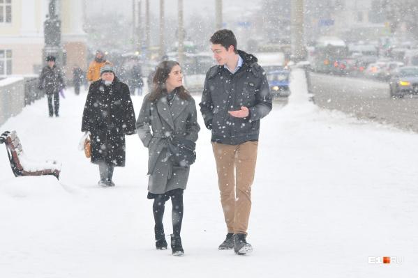 Настоящая зима придёт в Екатеринбург уже в ближайшую пятницу