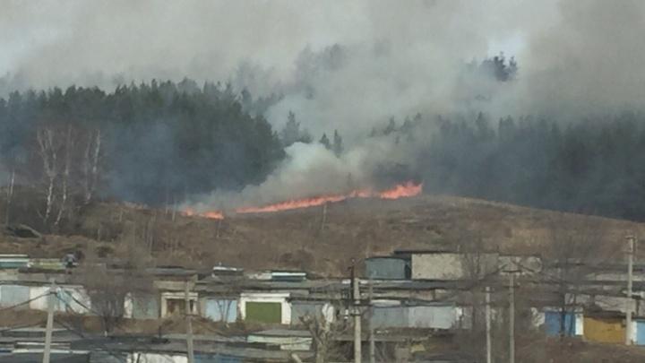 В Башкирии запретили сжигать сухую траву