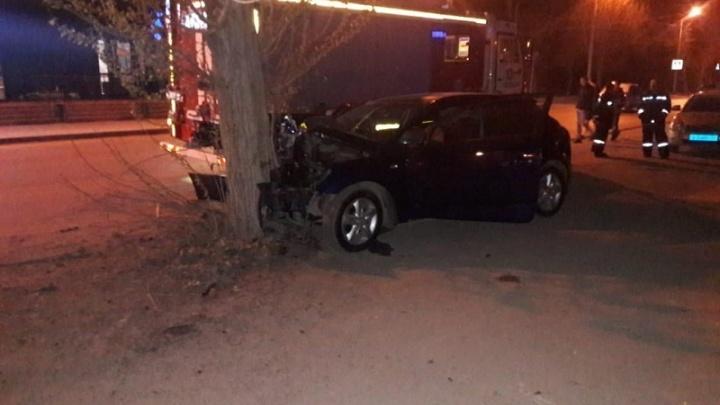 Врезался в дерево: в Волжском Волгоградской области в аварии погиб 31-летний водитель