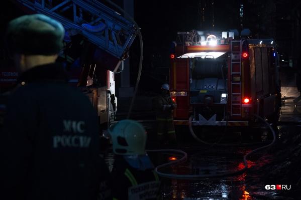 С пожаром справились быстро, но без жертв не обошлось