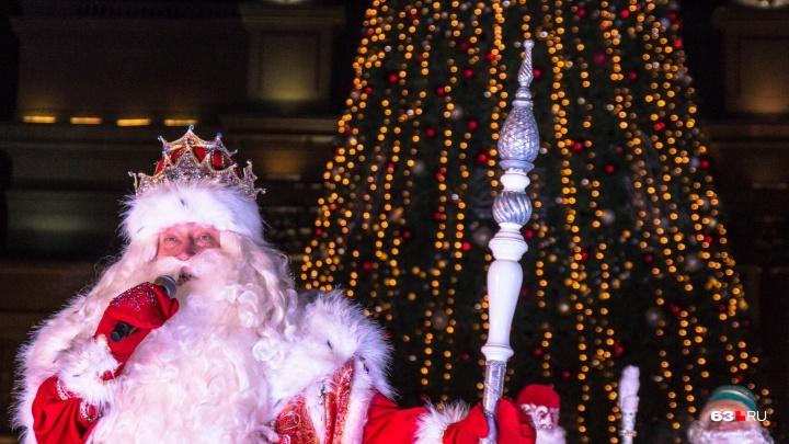 Стало известно, сколько заработает за свой визит в Самару Дед Мороз из Великого Устюга