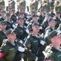 «Голову выше!»: на Кряжу прошла генеральная репетиция парада Победы