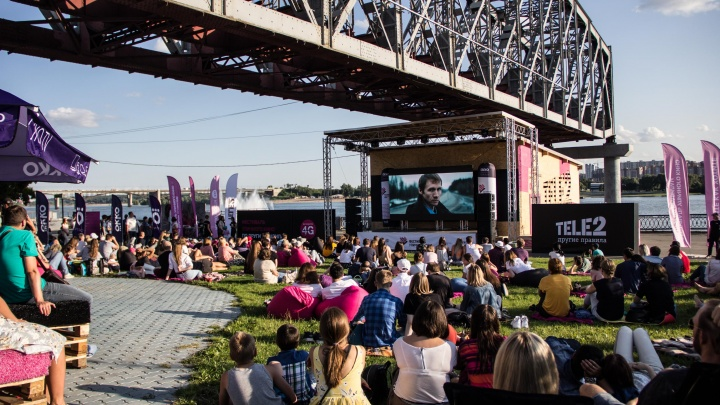 Новосибирцы выбрали лучшие короткометражки в кинотеатре под открытым небом