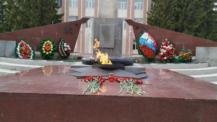 Курган ко Дню Победы украсят небывалым количеством праздничных огней