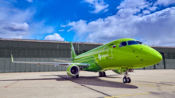 S7 Airlines запустила прямые рейсы из Уфы в Новосибирск