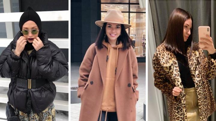 Шляпы зимой и леопардовый принт: что носят в этом сезоне модницы Екатеринбурга