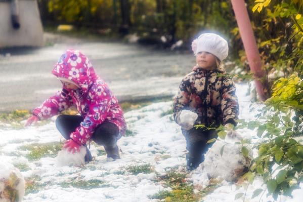 Скоро в каждом дворе Челябинской области появятся снеговики