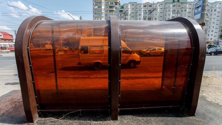 «Можно золотой унитаз поставить»: завод депутата сделал Волгограду 69 нанотехнологичных остановок