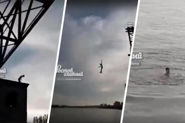 Опасный прыжок закончился благополучно — подросток выплыл сам