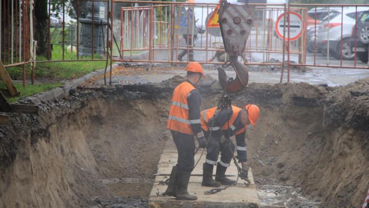 Ремонт отложили: в Архангельске перенесли перекрытие улицы Розы Люксембург