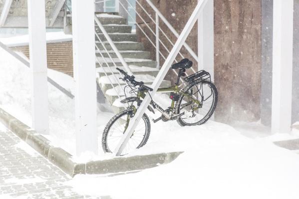 В пятницу в городе пройдёт небольшой снег