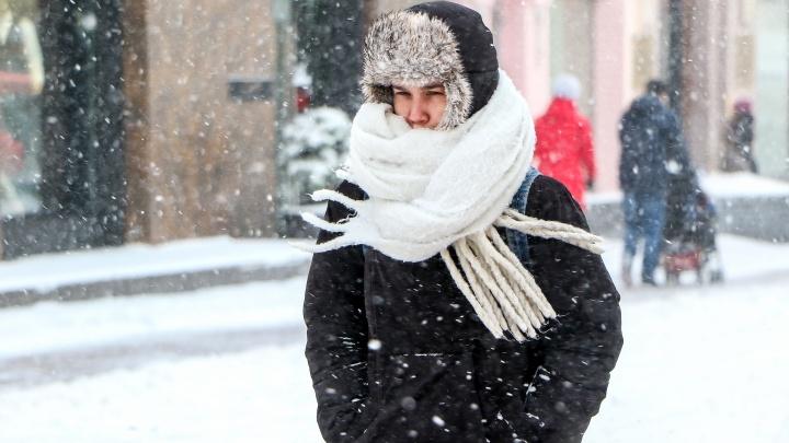 Снег и низкое атмосферное давление: погода на выходные в Нижнем Новгороде