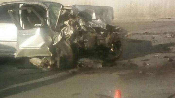 """""""BMW летел на огромной скорости"""": в Первоуральске во время лобового столкновения пострадали 4 машины"""