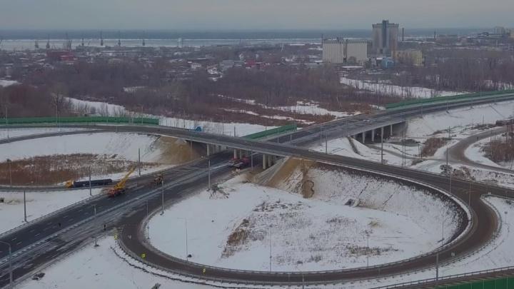 Развязки на Фрунзенском мосту планируют открыть летом 2020 года