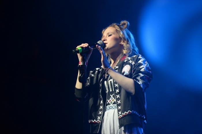 Монеточка на концерте в Екатеринбурге в прошлом году