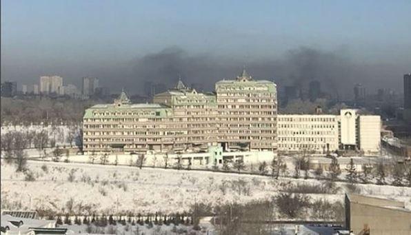 Красноярск несколько дней держится в топе самых грязных городов мира