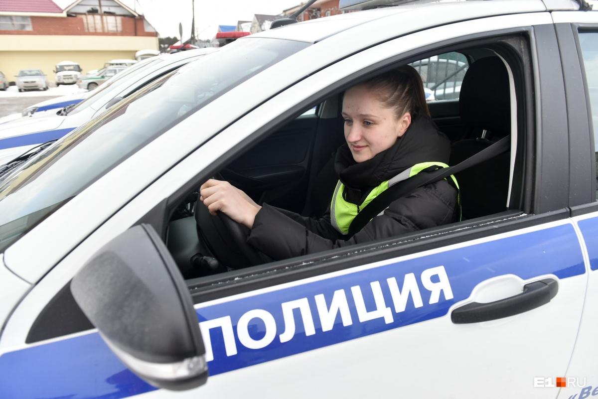 После стажировки Эльвира получит звание младшего лейтенанта и станет полноценным инспектором ДПС