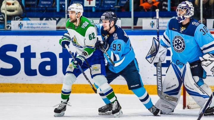 Сибирский «снеговик» растоптал «Салавата»: уфимцы проиграли первую игру выездной серии