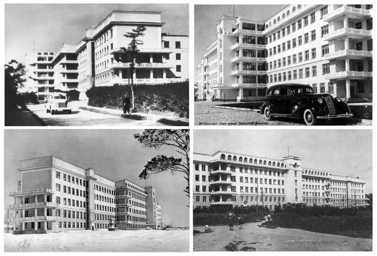 Так больница выглядела раньше