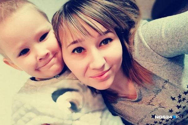 Тамара Лукина вместе со своим сыном Андреем.