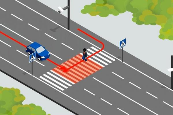В 2020 году в Екатеринбурге появятся комплексы, которые ловят водителей, не пропускающих пешеходов