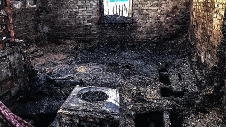 Трагедия в Степном: «Родители вышли, а дети сгорели»