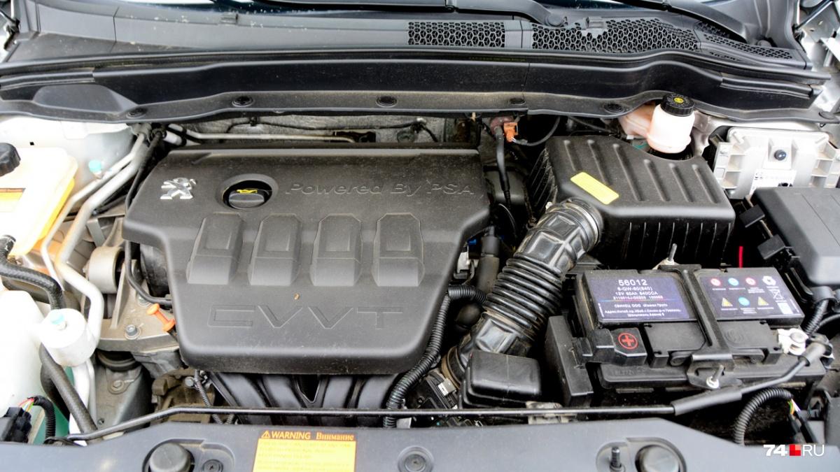 Под капотом — двухлитровый мотор Peugeot