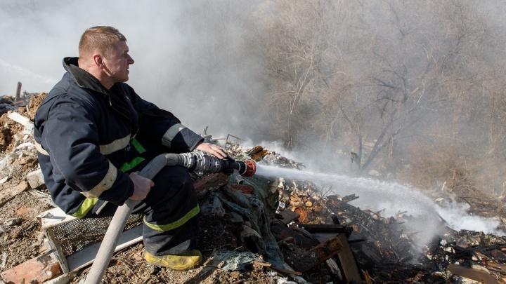 МЧС объявило о чрезвычайной пожароопасностив Волгоградской области