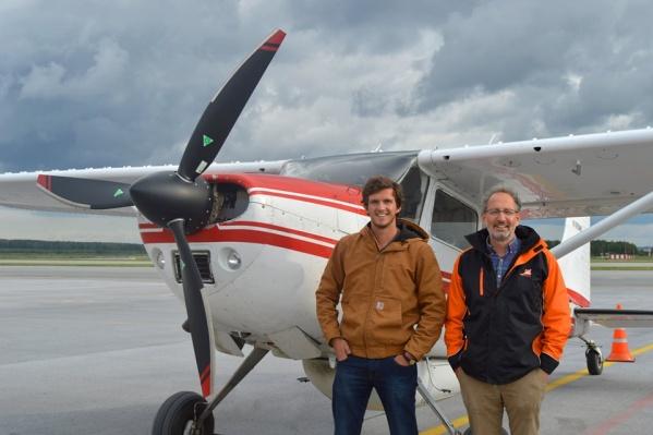 Отец и сын стартовали в середине августа в Колорадо