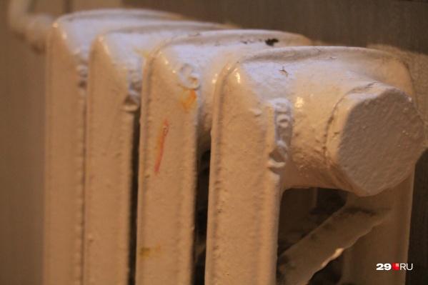 Горячий чугунный радиатор пришлось охлаждать, чтобы не навредить ребёнку