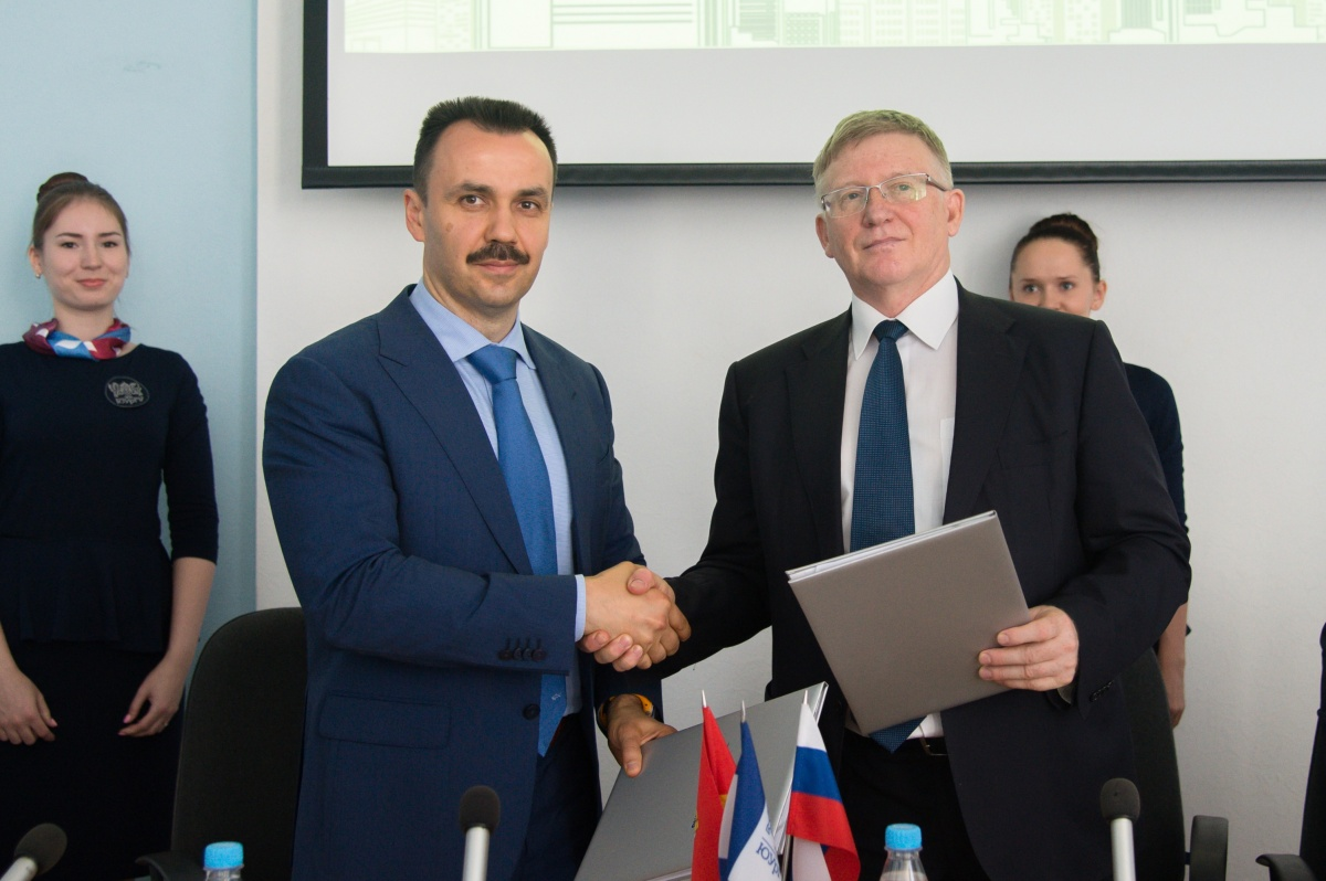 В ЮУрГУ подписали соглашение об открытии программы по изучению интернета вещей с Samsung