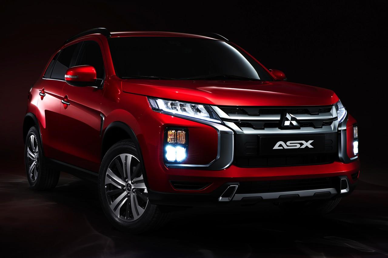 Mitsubishi ASX выглядит как новая модель, но это глубокий рестайлинг