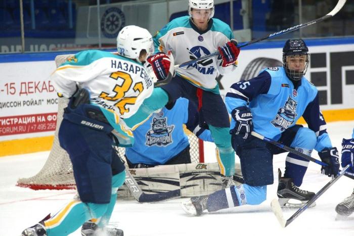 Первый матч с «Алтаем» завершился победой новосибирских хоккеистов