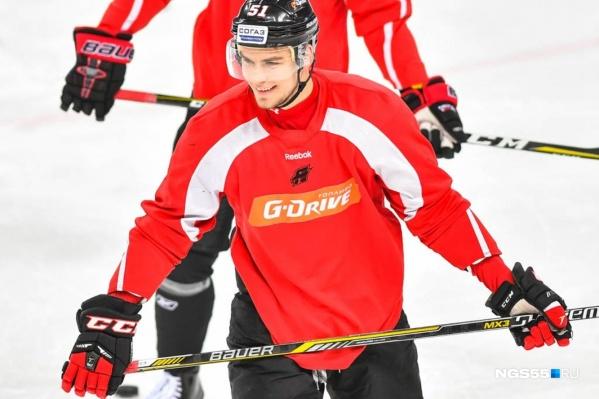 В прошлом сезоне Максим Минеев был твёрдым игроком основы