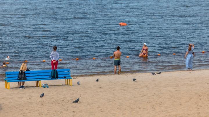 Вода в Волге еще холодная: МЧС рекомендует самарцам не купаться в реках и озерах подшофе