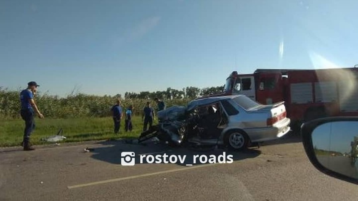 Автобус попал в тройное ДТП на трассе Ростов — Волгодонск: есть жертвы