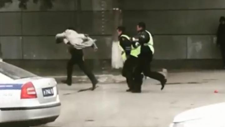 «Мама, ама криминал»: в Башкирии сняли на видео самую нелепую погоню