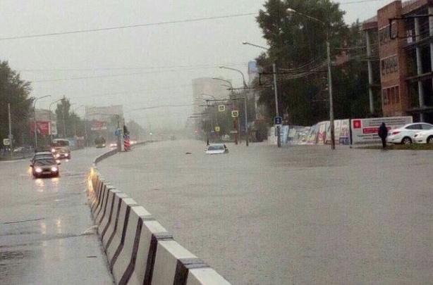 10 самых впечатляющих кадров потопа в Красноярске