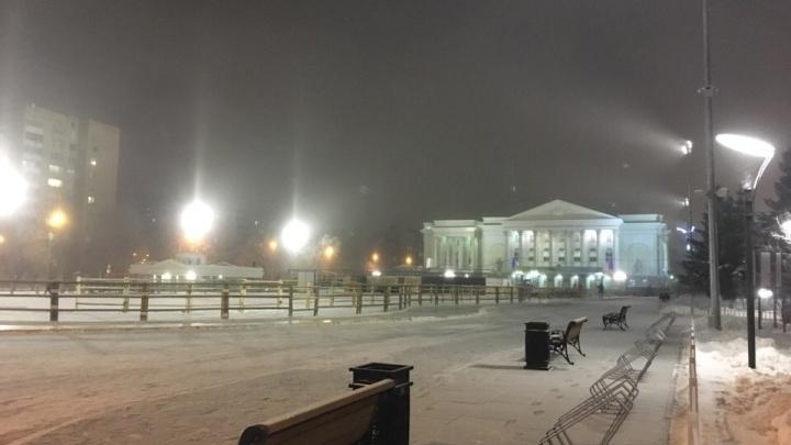 Тюмень заволокло туманом: любуемся снимками города в морозной дымке
