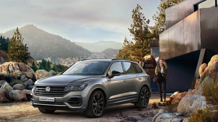 Volkswagen Touareg: волгоградцы устроили тест-драйв респектабельной новинке