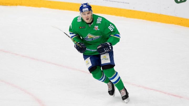 Прощай, «Салават»: нападающий Павел Шэн покидает уфимскую хоккейную команду