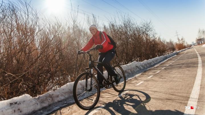 В администрации рассказали, почему разрушили новую велодорожку на Мельникайте