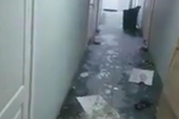 Хруст стекла и разруха: показываем взорвавшееся кафе изнутри. Эксклюзивное видео