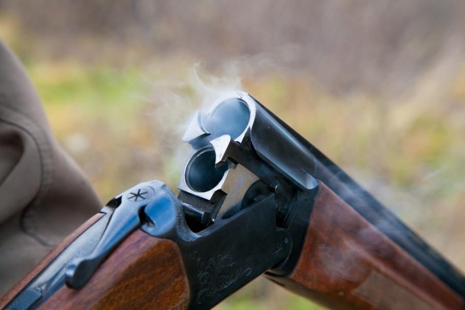 Мужчину застрелили в упор из охотничьего ружья