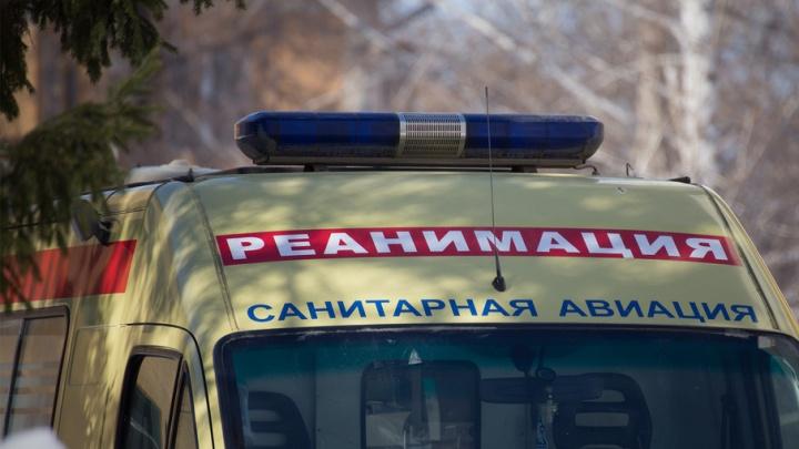 В Башкирии во время селфи на крыше поезда девушку ударило током