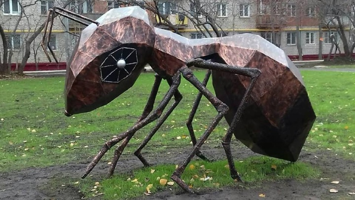 Фото дня: «Автозаводский муравьишка»